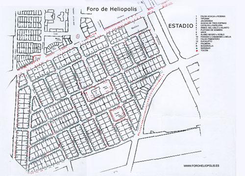 Plano arboleda Heliópolis