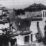 C/ Panamá, bombardeo 1937