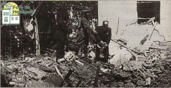 C/ Ebro, bombardeo 1937