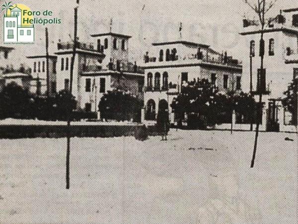 Plaza Chica, nevada de 1954