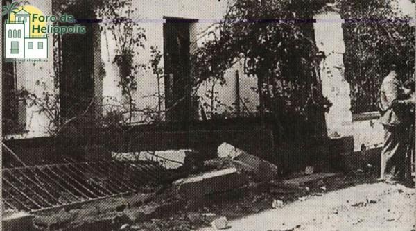 C/ Jamaica, bombardeo 1937