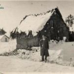 Vivienda en el monte de la C/ Perú, nevada de 1954 (cortesía matrimonio De La Prida-Noguer)