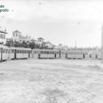 Tranvía en 1945