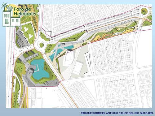 Simulación del futuro parque del Guadaíra