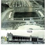 El estadio en 1928
