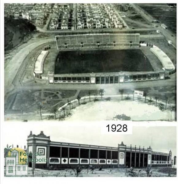 El estadio en 1928