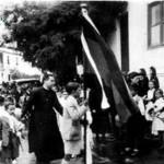 Procesión claretiana celebrada junto al Mercado de Abastos